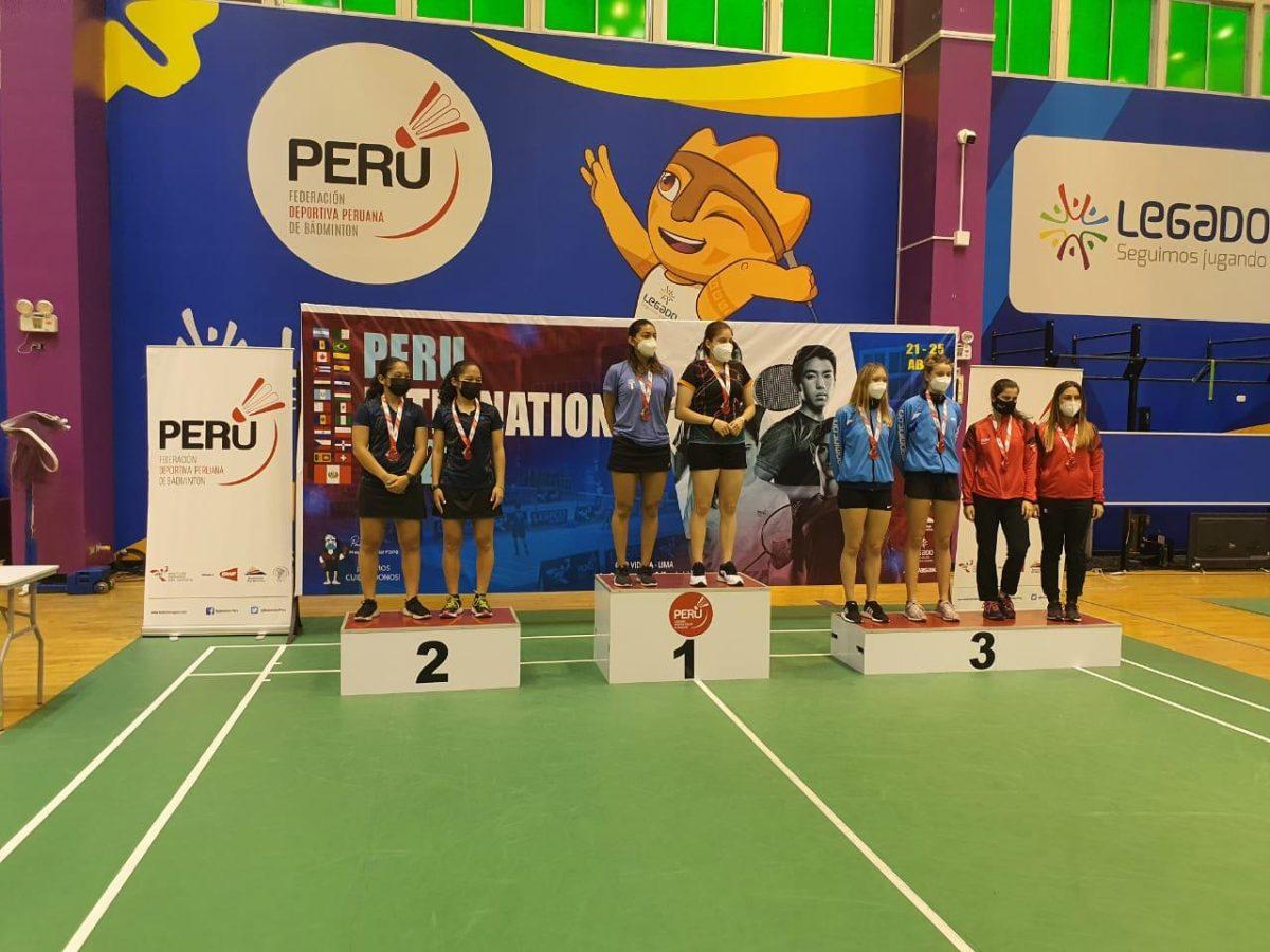 Selección de Bádminton de Guatemala logra dos oros y dos platas en el Internacional de Perú