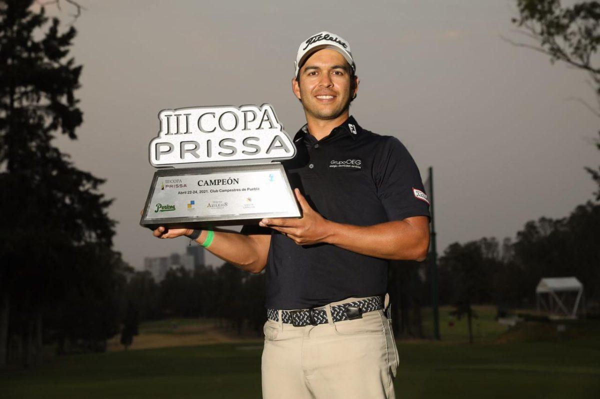 José Toledo se corona campeón por tercera vez en México