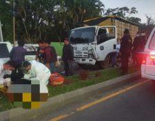 Al menos ocho personas, entre ellos varios menores, resultaron heridos en colisión. (Foto: Cruz Roja)