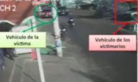 Fotograma del momento del secuestro de Kattyna Acuña.