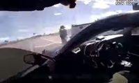 Imágenes de cámara corporal que muestran el enfrentamiento entre el policía Adrian de la Garza y el narcotraficante Omar Felix Cueva.