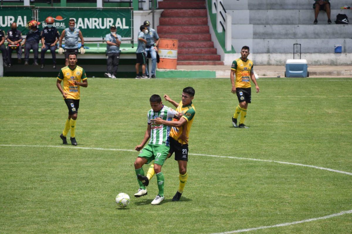 Antigua GFC iguala contra Guastatoya y deja escapar la opción de alejarse del descenso
