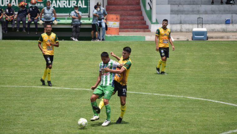 Antigua y Guastatoya empatan sin goles en la jornada 14 del Clausura 2021. (Foto AndresNadf).
