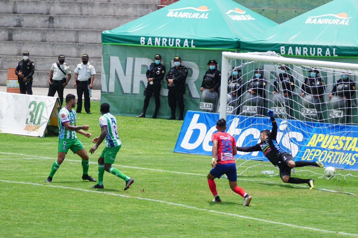 Antigua GFC empata con Municipal y sigue en las penas del descenso