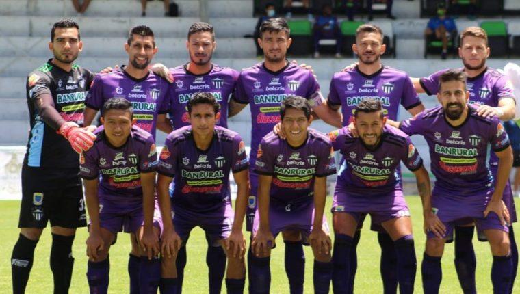 Antigua GFC llegó a cinco partidos sin ganar en el Clausura 2021. (Foto Liga Nacional)