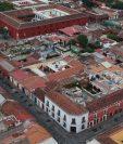 Vista sobre  Antigua Guatemala, anteriormente ciudd de  Santiago de los Caballeros de Goathemala.  (Foto Prensa Libre: Carlos Hernández).