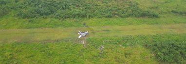 El aterrizaje más reciente ocurrió la madrugada del sábado pasado en el Parque Nacional Sierra del Lacandón, La Libertad, Petén.