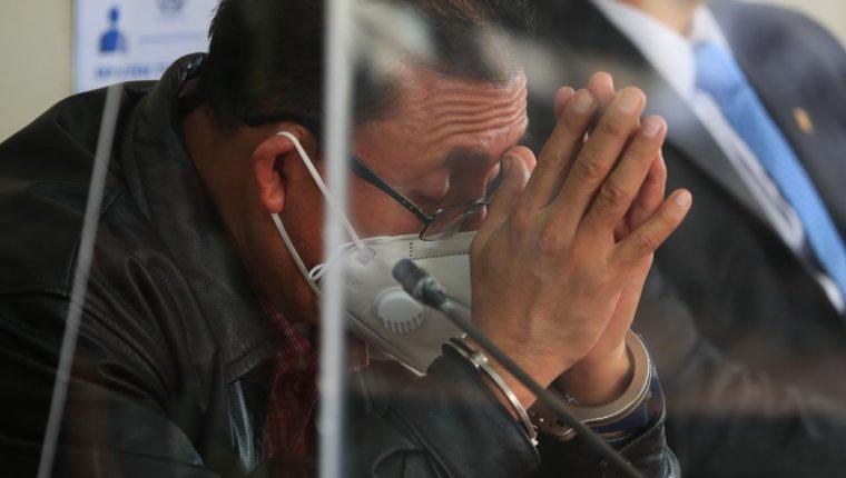 Rolando Moisés Pérez, excolaborador de Neto Bran, fue condenado a 12 años de cárcel. (Foto Prensa Libre: Carlos Hernández Ovalle)