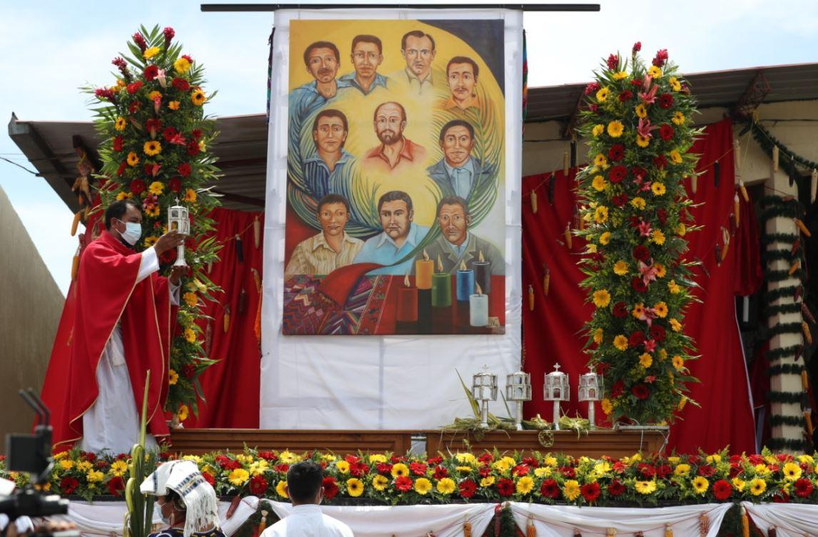 El papa Francisco alaba el ejemplo de beato y otros 9 mártires en Guatemala