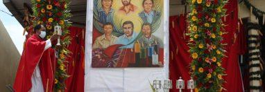 La ceremonia de beatificación de los 10 mártires se llevó a cabo en Santa Cruz del Quiché. (Foto Prensa Libre: María Renée Barrientos)