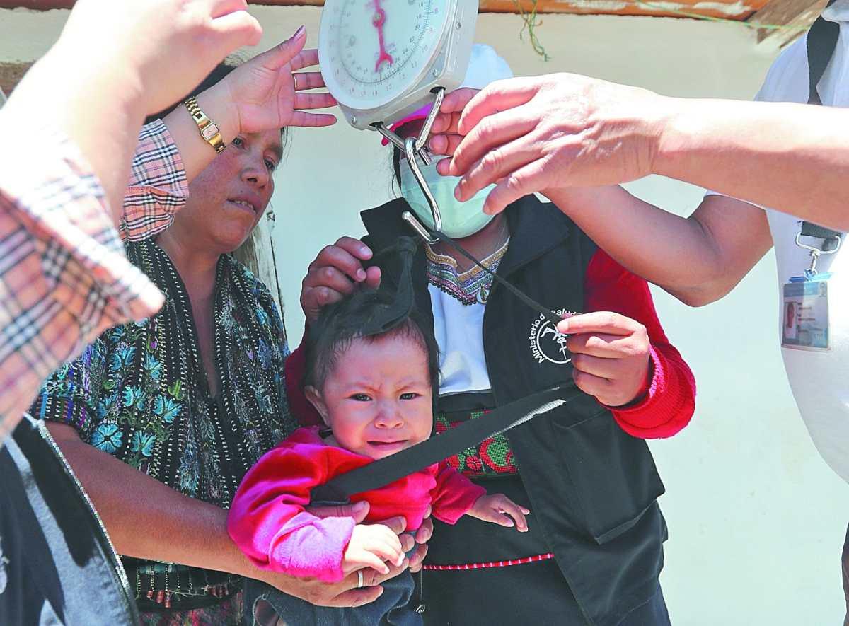 Disminuye alcance de brigadas que buscan a niños con desnutrición aguda