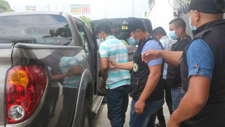 La PNC ha capturado a más de 300 personas entre Jueves Santo y Viernes Santo. Foto: PNC