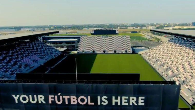 El Inter Miami CF Stadium albergará la ronda preliminar de la Copa Oro 2021. (Foto Prensa Libre: Captura video Concacaf)