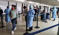 Cientos de guatemaltecos han decidido viajar a Estados Unidos para obtener la vacuna contra el covid-19 debido a la lentitud del sistema de Salud en Guatemala . (Foto Prensa Libre: DGAC)