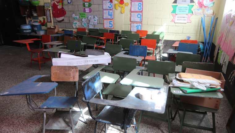 En Guatemala la mayoría de centros educativos han permanecido cerrados desde el 16 de marzo de 2020 debido a la pandemia del covid-19 (Foto Prensa Libre: Hemeroteca PL)