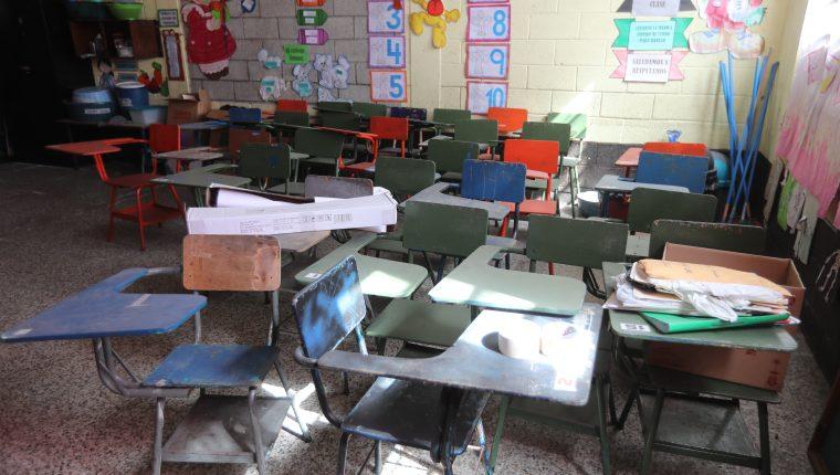 En Guatemala los centros educativos permanecieron cerrados por nueve meses, y se adoptó un modelo de educación a distancia. (Foto Prensa Libre: Hemeroteca PL)