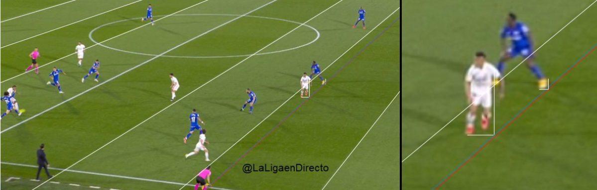 ¡Polémica! VAR anula gol del Real Madrid contra el Getafe