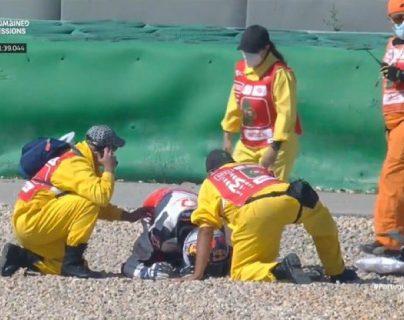 El piloto Jorge Martín sufre traumatismo severo en el cráneo durante el GP de Portugal