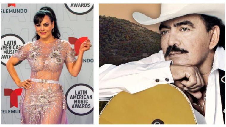 Maribel Guardia recuerda a Joan Sebastian en los Latin AMAs 2021. (Foto Prensa Libre: EFE)