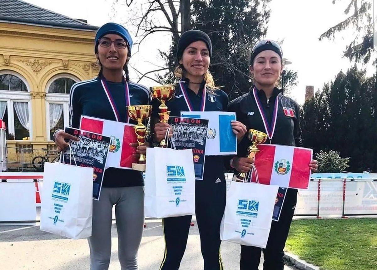 Mayra Herrera gana el oro en prueba de marcha en República Checa