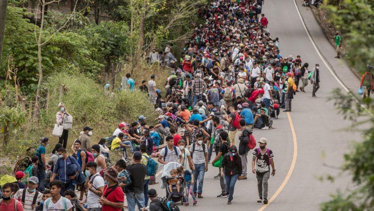 MIles de centroamericanos buscan llegar a Estados Unidos. (Foto Prensa Libre: Hemeroteca)