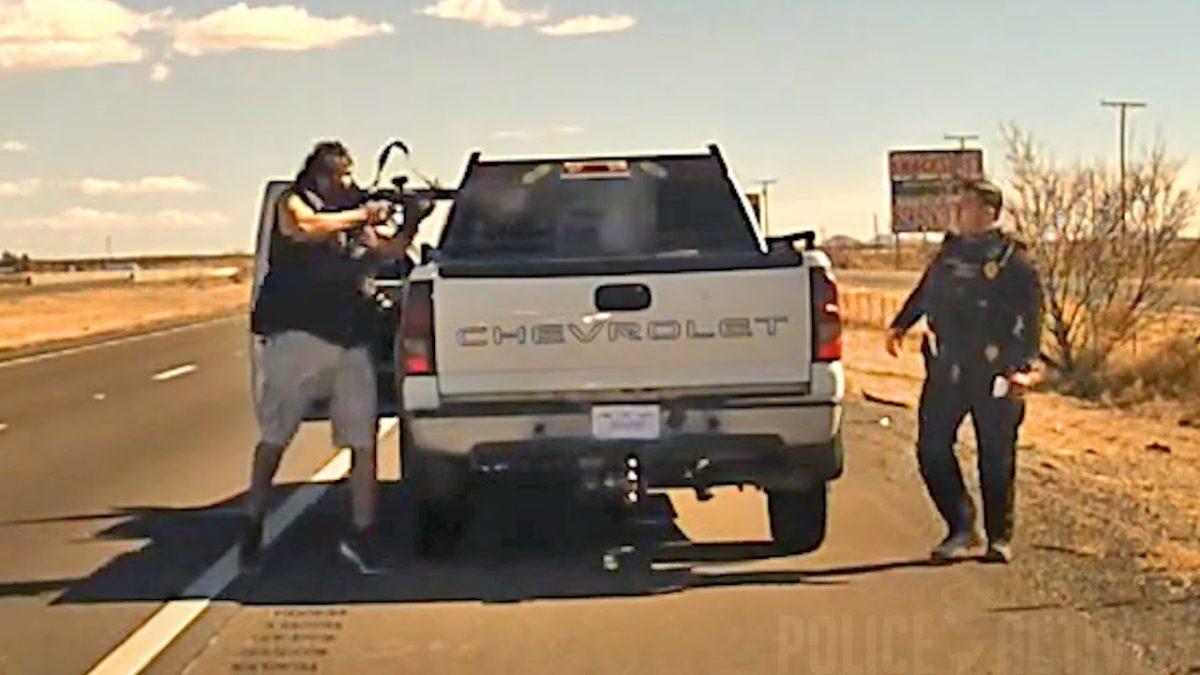 A quemarropa: narcotraficante mata a un policía de EE. UU. y difunden video