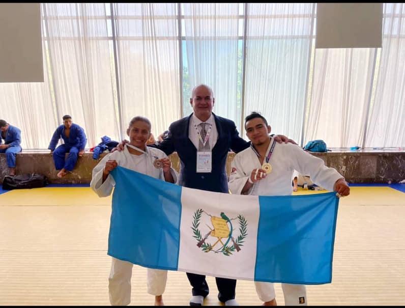 El guatemalteco José Ramos se cuelga el oro en el Open Panamericano de judo