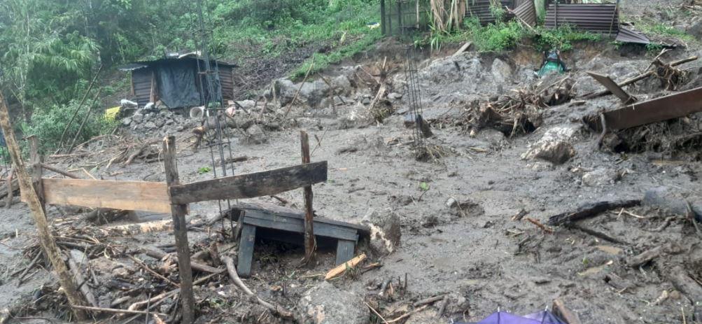 Las lluvias en Guatemala causan los primeros estragos de 2021; hay 165 casas dañadas y 1 mil 500 evacuados