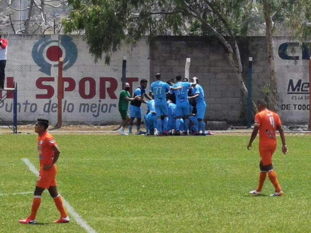Cristopher Ramírez marca el empate salvador de Sanarate contra Achuapa