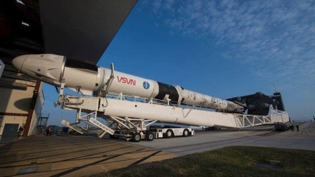 La NASA y SpaceX están trabajando en el segundo envío de astronautas a la Estación Espacial Internacional (EEI) para el próximo jueves 22 de abril. (Foto: Aubrey Gemignani / NASA)