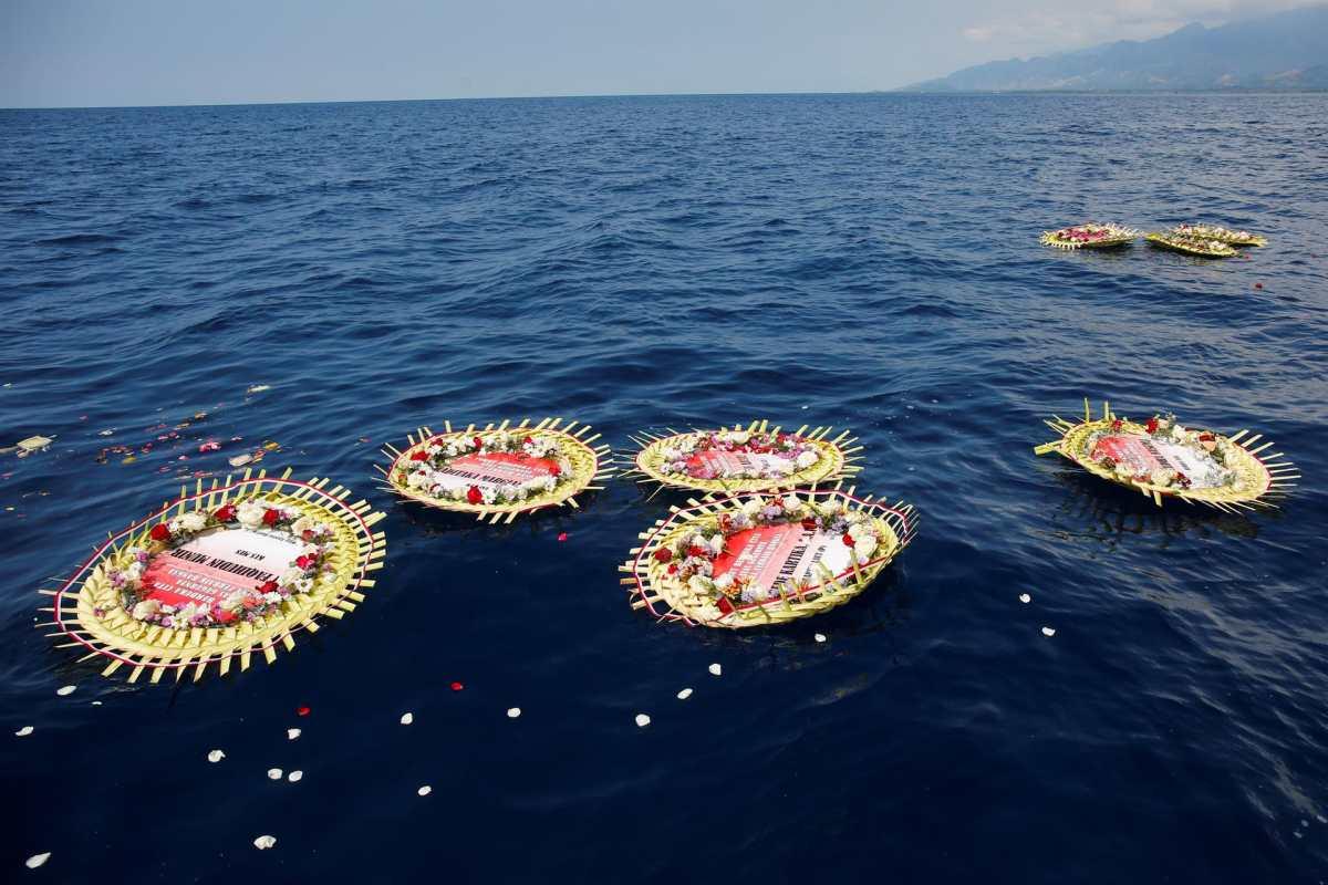 El dramático video de la tripulación del submarino de Indonesia en el que se les ve cantando antes de hundirse