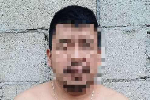 Josué David Pacajoj Márquez y/o Josué David Ixcoc Marquéz, alias el Triste, capturado en Chimaltenango. (Foto Prensa Libre: PNC)