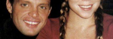 Luis Miguel y Mariah Carey en una imagen que data a principios del 2000. (Foto Prensa Libre: Hemeroteca PL)