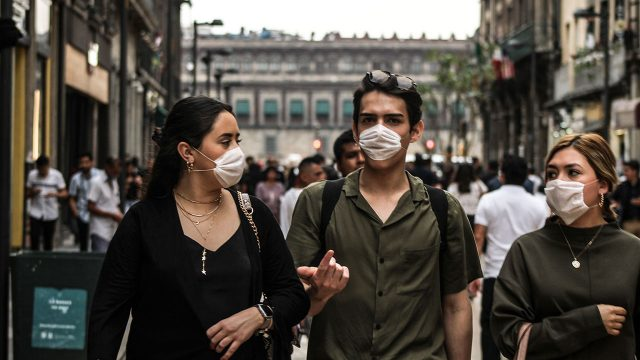En México la gente sale a la calle indiscriminadamente. Foto: Andrea Gama para Forbes México.