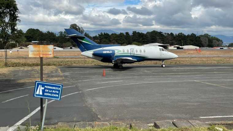 Entre los bienes que pasaron al Estado se encuentra una aeronave. (Foto: MP)