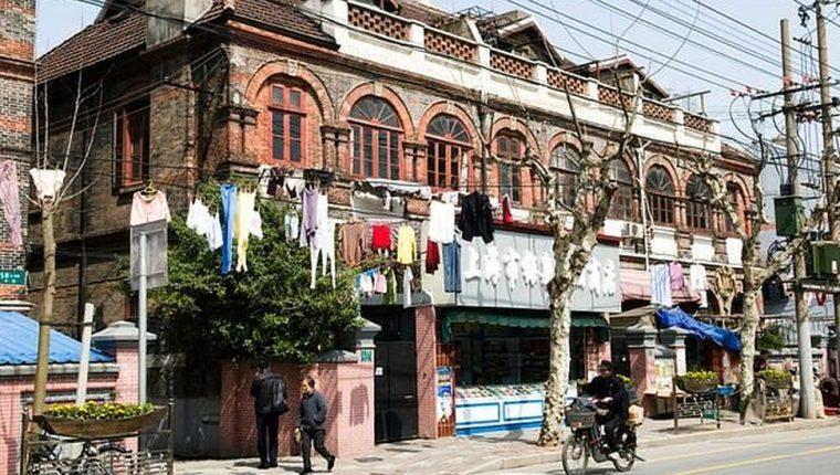 Un barrio de Shanghái fue convertido en un gueto judío.