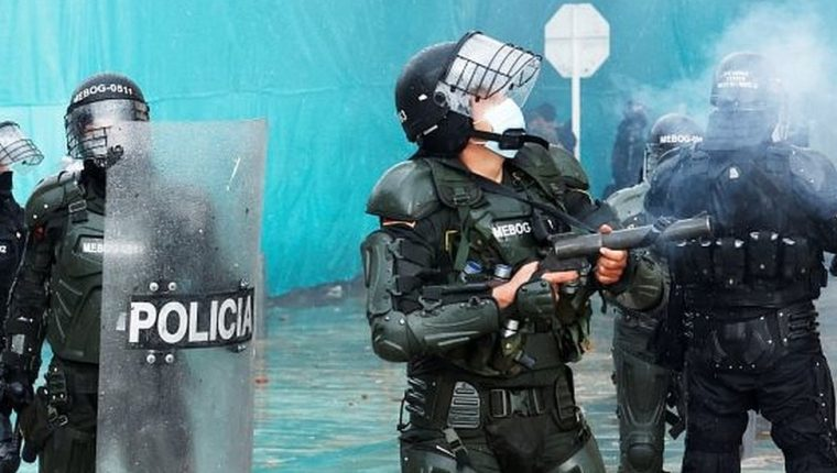La Policía de Colombia está en el ojo de la tormenta por el papel de sus agentes en las protestas recientes.
