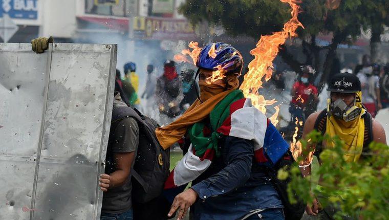 Cali se convirtió en el epicentro de las protestas.