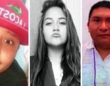 Los familiares de Brandon Giovanny Hernández, Nancy Lezama y Cristian López publicaron sus imágenes en redes sociales al no tener noticias de ellos tras el accidente de metro de este lunes en Ciudad de México.