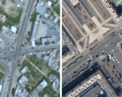Conflicto israelí-palestino: ¿por qué Gaza aparece borrosa en Google Maps?