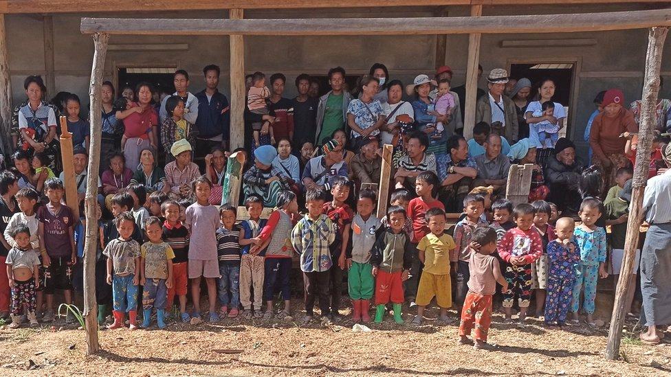 La enconada resistencia de Mindat, la pequeña ciudad que se enfrentó al ejército de Myanmar