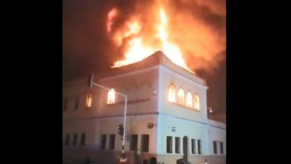 Protestas en Colombia: incendian el Palacio de Justicia de Tuluá