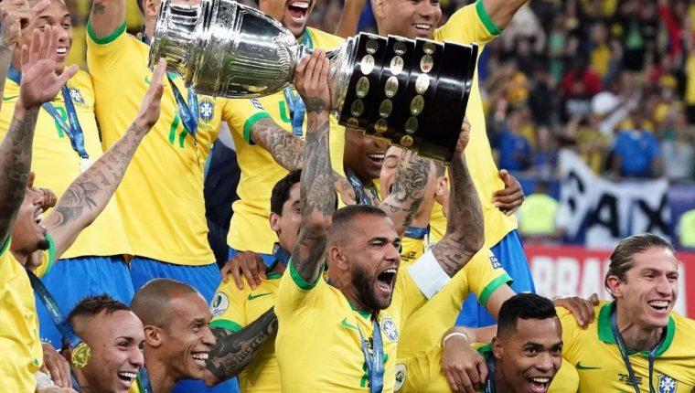 Brasil organizó y ganó la Copa América de 2019.
