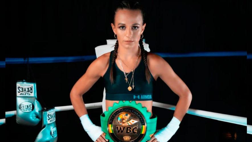 La boxeadora guatemalteca María Micheo va por este título y quiere hacer más historia