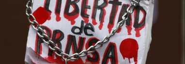 La SIP señala serias amenazas contra la libertad de prensa en la región. (Foto Prensa Libre: EFE)