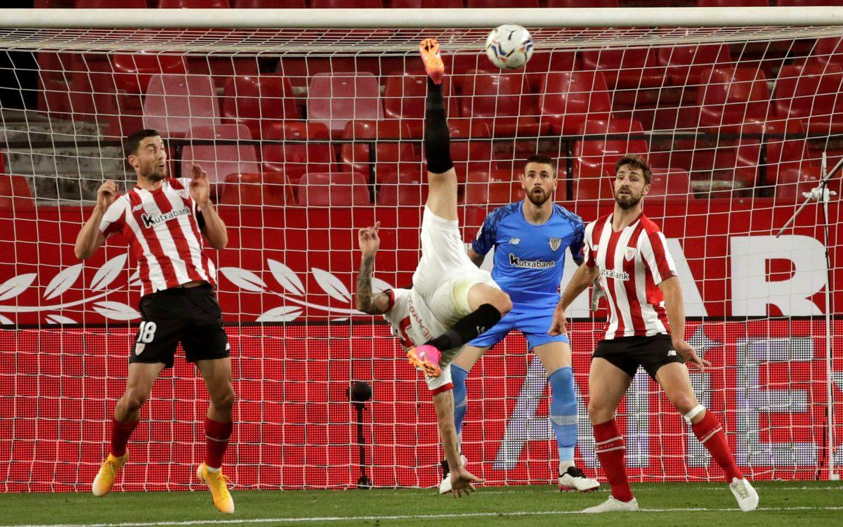 La Liga: El Sevilla pierde con el Athletic de Bilbao y necesita de un milagro para seguir en la lucha