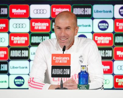 """Zidane sobre su futuro: """"No sé qué va a pasar, todo puede ocurrir"""""""