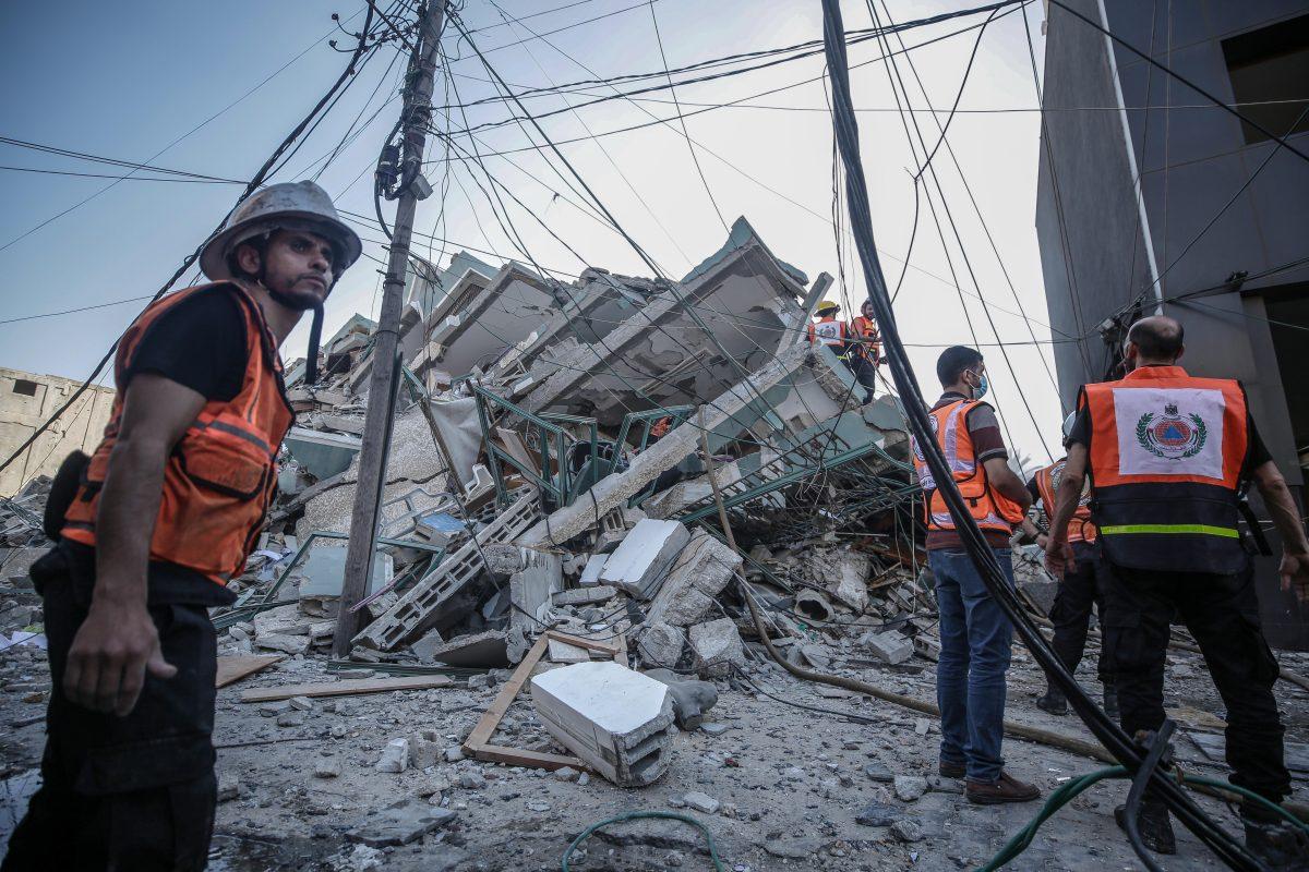 Israel destruye edificio de Gaza donde funcionaban oficinas de Associated Press y Al Jazeera