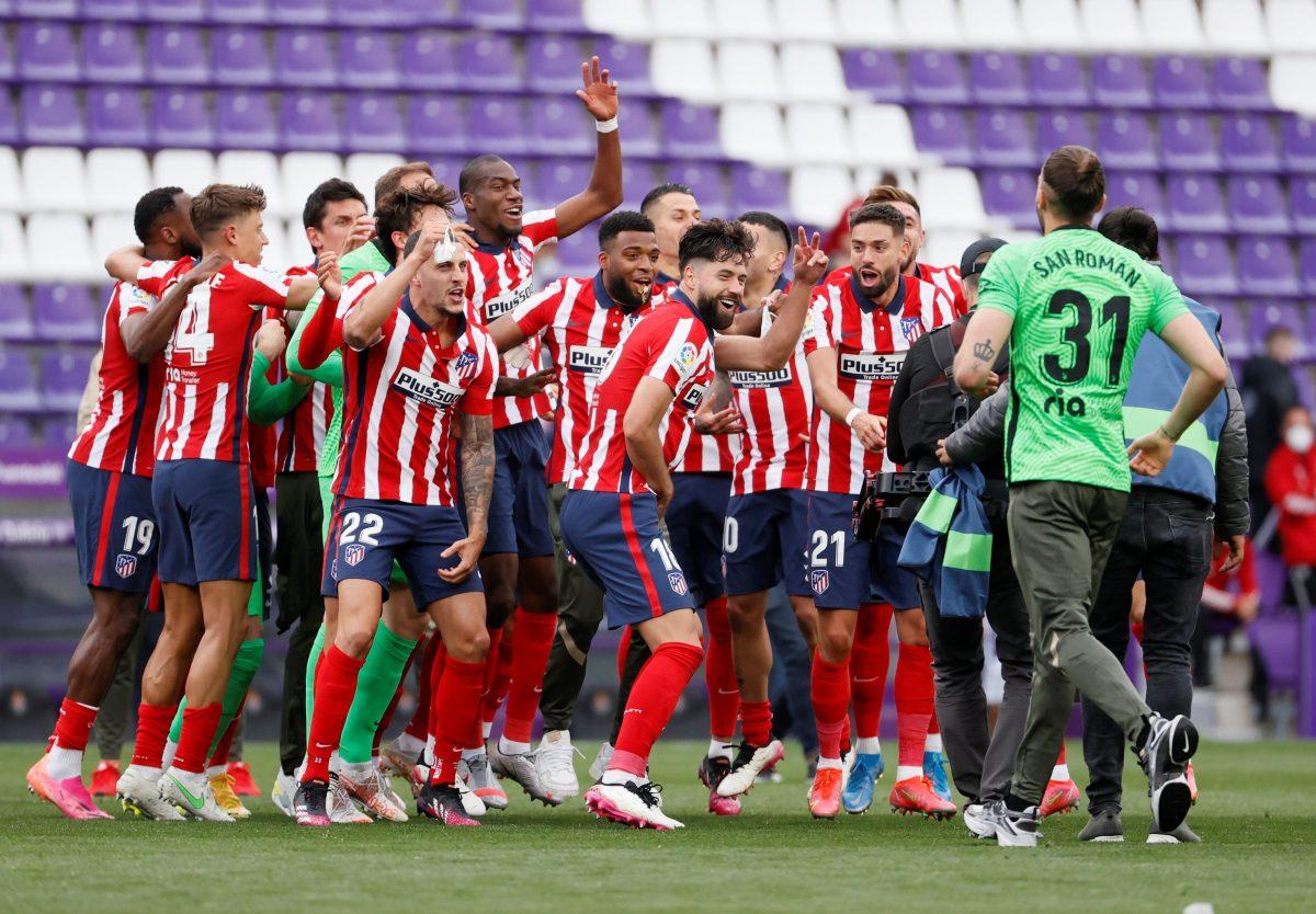 Atlético de Madrid se corona campeón de la Liga española