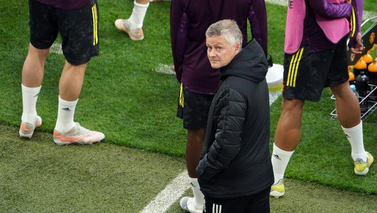 Ole Gunnar Solskjaer, técnico del Manchester United. (Foto Prensa Libre: EFE)